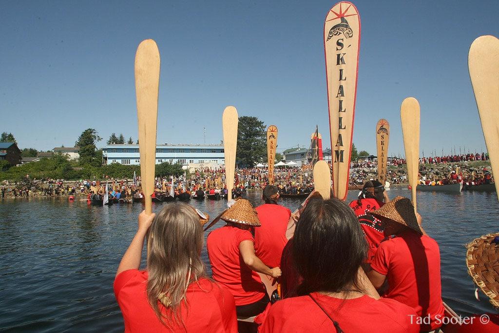 S'Klallam Canoe